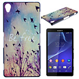 Asuka Pattern TPU Material Soft Phone Case for Sony Z2