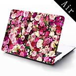 fiori di progettazione custodia protettiva per tutto il corpo per 11 pollici / 13 pollici air nuovo MacBook