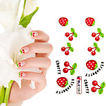 Shining Nail Sticker(3 pcs)