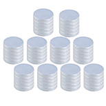 10 x 2mm Strong Rounded NdFeB Magnets (50 PCS)