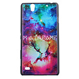 Dream Pattern PC Hard Case for Sony Xperia C4