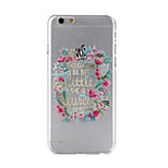 Faceplate Pattern PC Material Phone Case for iPhone 6
