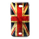 Union Jack Pattern TPU Soft Back Cover Case   For Sony E4