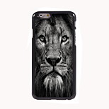 Lion Face Design Aluminum Hard Case for iPhone 6