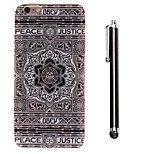 Sunflower Pattern TPU Soft Back and A Stylus Touch Pen for iPhone 6/6S