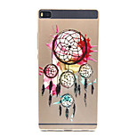 Multicolor Dream Catchers Pattern Ultra Thin Soft TPU Back Cover Case for Huawei Ascend P8