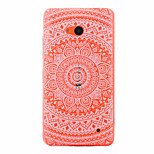 Large Round Printing Pattern PC Material Phone Case for Nokia 640