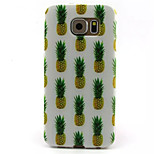 Pineapple  Pattern TPU Phone Case For Galaxy S6 / S6 edge