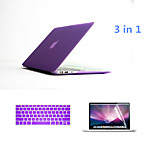 Fashion 3 in 1 Full Body Cases with Keyboard Cover and Screen Protector for Macbook Air 11.6