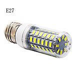 E14/G9/E26/E27 12 W 56 SMD 5730 1200 LM Warm White/Cool White Corn Bulbs AC 220-240 V