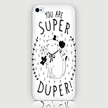 Cartoon Cat Pattern Phone Back Case Cover for iPhone5C