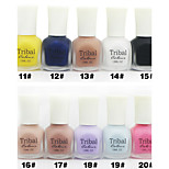Nail Art Environmental Cashmeran Matte Polish (12ml,No.11-20 Colors Available)