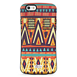 Triangle  Pattern PC + TPU Drop Resistance  Phone Shell For iPhone 6