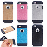 Glitter TPU Skinning Armor Phone Case for iPhone 5/5S(Assorted Colors)