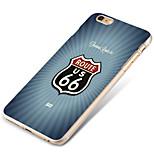 msvii personnalité relief&couleur dessin cas / couvertures pour iPhone6 en plus