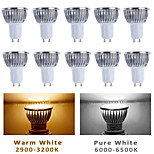 10pcs MORSEN® GU10/GU5.3/E27 5W 350-400LM Light LED Spot Bulb(85-265V)