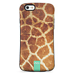 Mao Wen  Pattern PC + TPU Drop Resistance  Phone Shell For iPhone 6