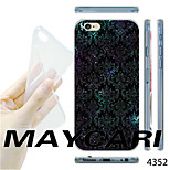 MAYCARI®Starry Sky Pattern Transparent TPU Soft Back Case for iPhone 6