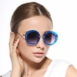 Women 's 100% UV400 Round Sunglasses