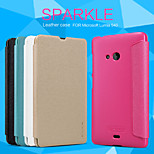 NILLKIN Sparkle Series Flip Ultra-thin PU Leather Cover Shell for  Lumia 540(Assorted Colors)