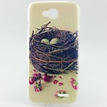 Nest Pattern TPU Material Phone Case for LG L90 D405