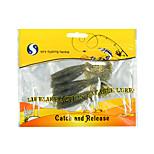YFY Señuelos blandos 5.12 g 5 pcs 65*12*5 Pesca de baitcasting