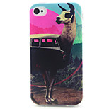 Travel Pattern TPU Phone Case for iPhone 4/4S