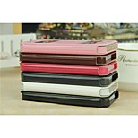 With Stents window Classics Leather Sheath Pu/Pc Mobilephone Shell  for iPhone 5/5s/5c   Assorted Colors