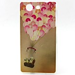 Balloon Pattern TPU Material Soft Phone Case for Sony Z3 Mini