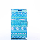 Attractive Style Pattern PU Leather Full Body Case with Stand for LG L70