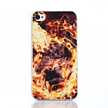 modello fuoco cassa del telefono materiale TPU per il iPhone 4 / 4s