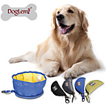 Portable Folding Waterproof Pet Bowl PD60003 Outdoor Travel