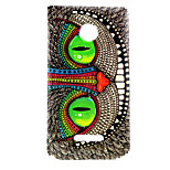 Mysterious Smile  Pattern TPU + IMD Soft Back Cover Case For Microsoft Lumia 435/Nokia N435