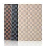 10.1 inch plaidpatronen hoge kwaliteit pu lederen tas met standaard voor de Sony Xperia z4 tablet (verschillende kleuren)