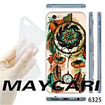 MAYCARI®Dream Catcher Pattern TPU Soft Transparent Back Case for iPhone 6