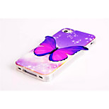 3D Butterfly Pattern Style TPU Bling Bling Soft Smart Phone Case Protective Case Cover for iPhone4  4s