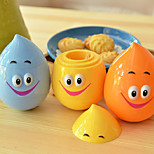 Cute Tumbler Toothpick Holder Container with Smile Water Drop Dribble  (Random Color)