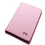Klapp Rhombus PU Ledertasche mit Ständer für iPad 1/2/3 / 4 (farbig sortiert)
