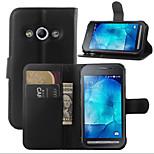 licsi körül nyitó zárójel bőr telefonon pénztárca kártya használható Samsung Galaxy Xcover 3 (vegyes színes)