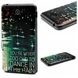 Light Rain  Pattern TPU Phone Case for Sony E4