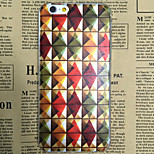 Rhombus Pattern Transparent TPU Soft Back Case for iPhone 6