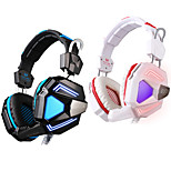 EACH G5200 Headphone USB Over Ear Gaming Vibration Breathing LED Light with Microphone For PC