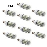10 kpl E14/G9/E26/E27 7.0 W 56 SMD 5730 600 LM Lämmin valkoinen/Kylmä valkoinen Maissilamput AC 220-240 V