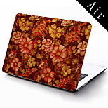 Yellow Flower Design Full-Body Protective Case for 11-inch/13-inch New MacBook Air