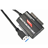 Ourspop USB3.0 To IDE/SATA CABLE Sustain Win8 Win7 WinXP,WinVISTA,Windows2000 LINUX MAS OS(32/64bit)