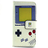 Consoles Pattern PU Leather Material Card Full Body Case for iPhone 5/5S
