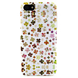 Fashion Design COCO FUN® Flowers Tribal Pattern Soft TPU IMD Back Case Cover for iPhone 5/5S