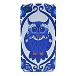 hibou modèle pc cas matériau de téléphone pour iPhone 4 / 4S