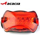 acacia 5LEDs fiets achterlicht lamp geleid fietsen fiets achterlicht fiets stuur terug achterlicht voor max safty waarschuwing