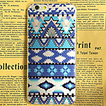 Blue Decorative Pattern Pattern TPU Soft Back Case for iPhone 6